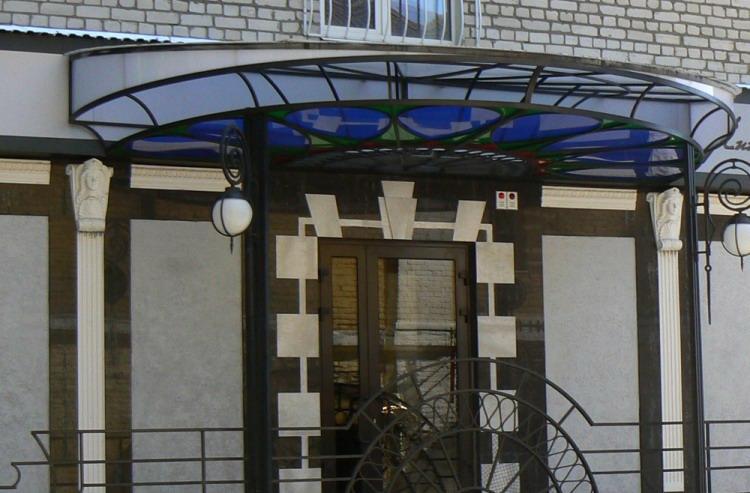 Витраж. «Модный дом Лии Назаровой» г. Брянск